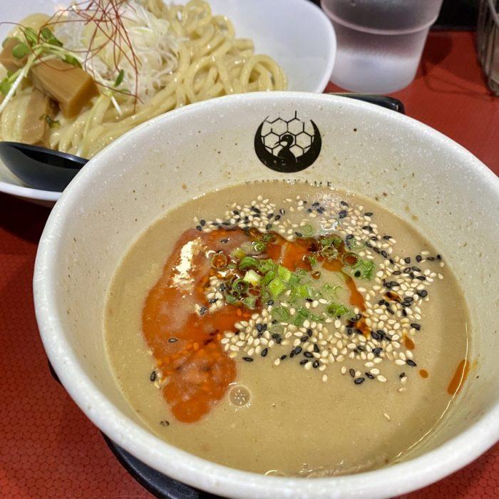 京つけめん つるかめ 六角 の 西京味噌坦々つけ麺