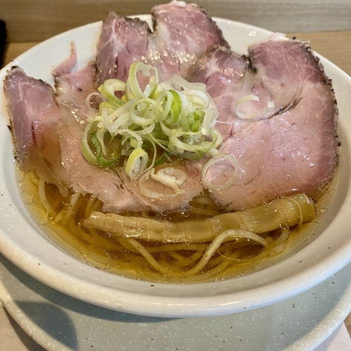 麺屋優光の淡竹HACHIKUと鶏餃子セット
