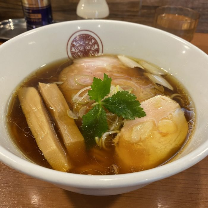 とうしちの鶏醤油らぁ麺・唐揚げセット&冷やし鶏醤油らぁ麺
