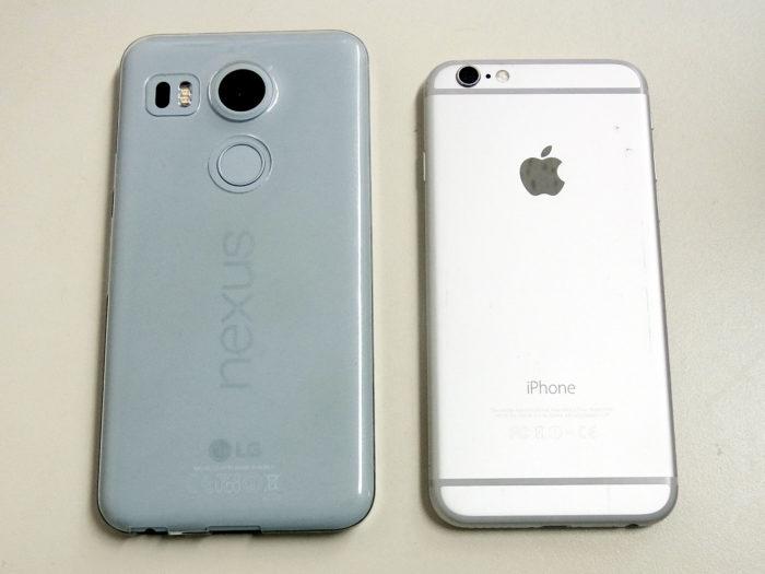 iPhone6 & nexus5X