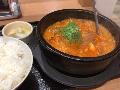名古屋味噌スンドゥブ定食