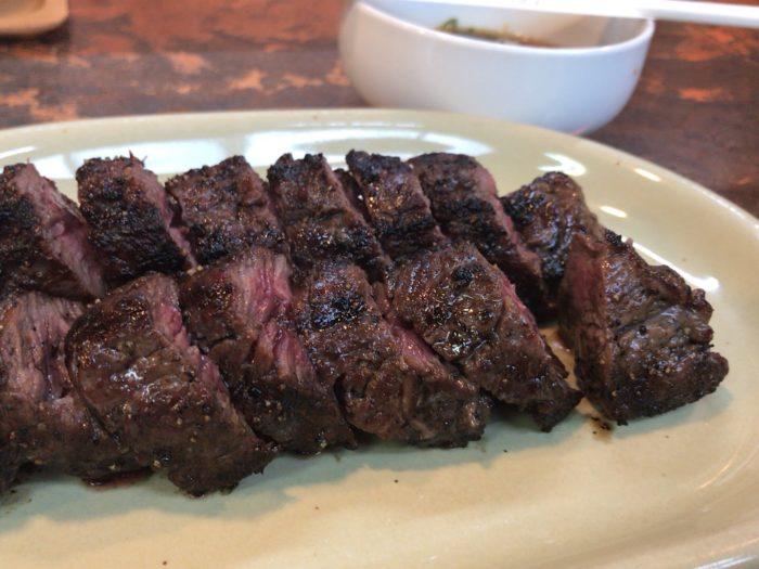 ピーピングトムのステーキ