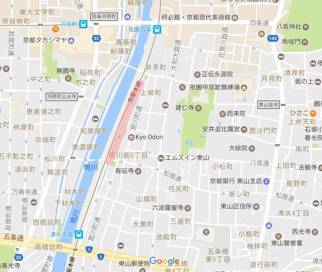 宮川町 桜