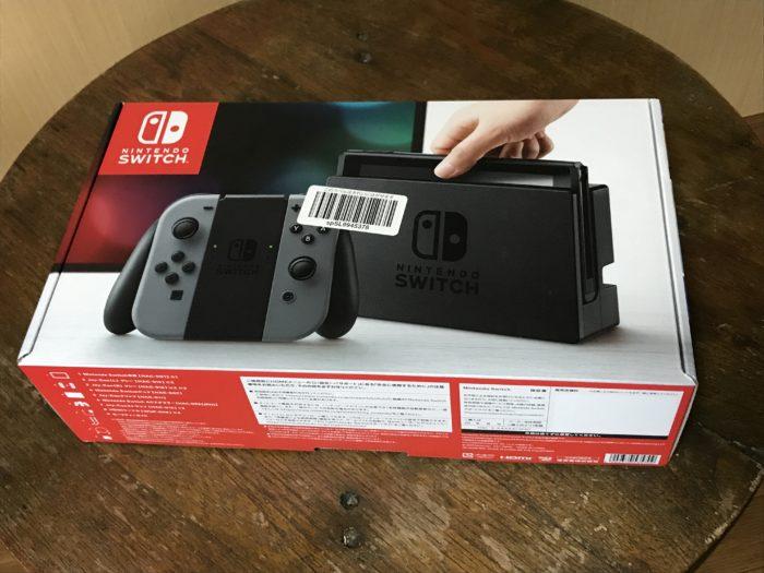Nintendo Switch 届きました。