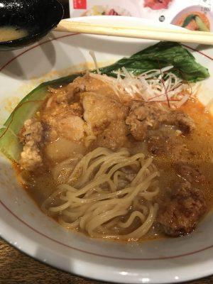 パーコーカレー担々麺