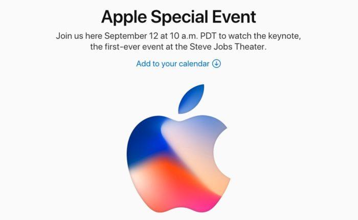 Apple Special Event いよいよ今晩2時から