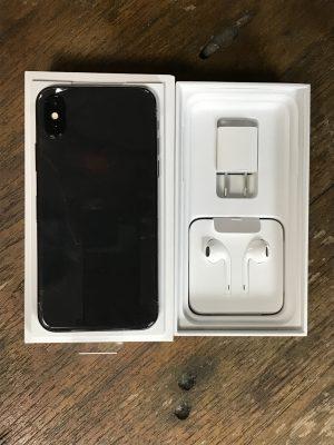 iphonex開封