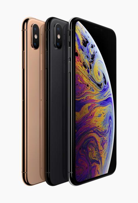 新しいiPhoneは「XS」「XS Max」「XR」の3種類