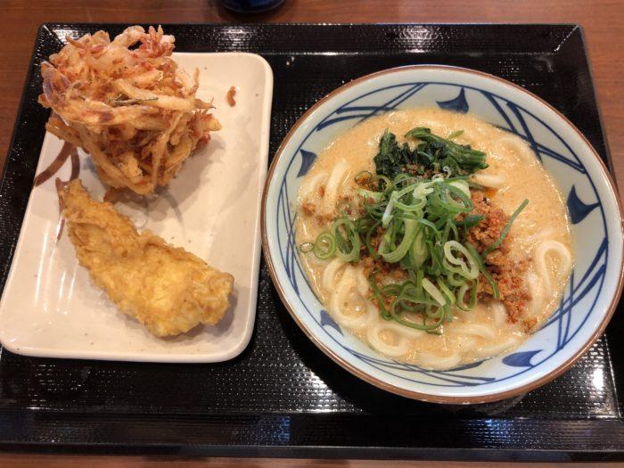 丸亀製麺 坦々うどん