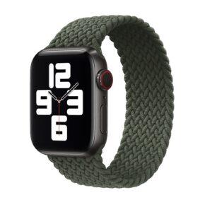 Apple Watch のバンドをブレイデッドソロループに変えてみた