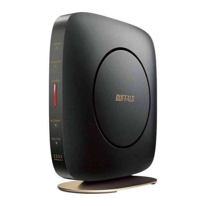 WiFi 無線LAN ルーターをBUFFALOの新しいモデルに買い替えました。