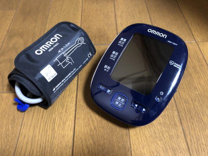 スマホでらくらく健康管理♪ OMRON体重体組成計HBF-228Tと血圧計HEM-7281T