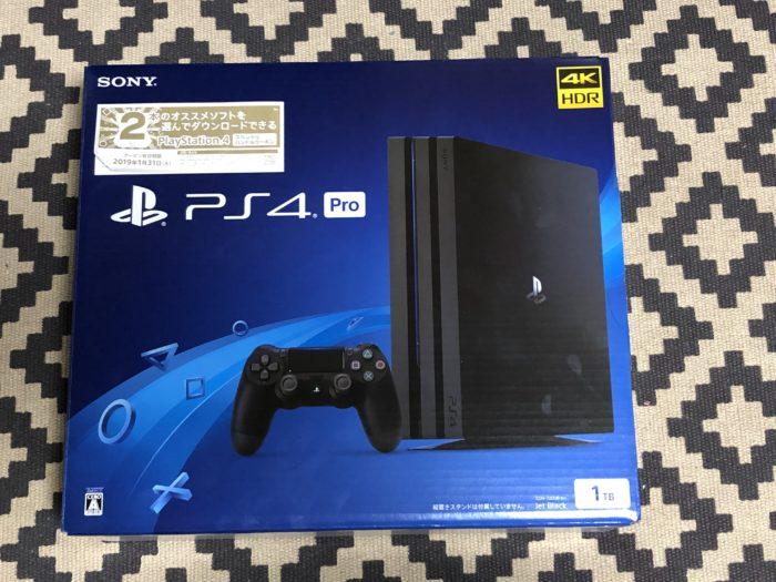 PS4 Pro をPayPayで購入しました。