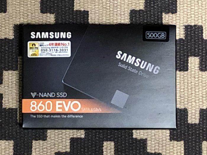さらに 500GBのSSD を3台+αを PayPayで購入。