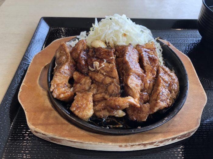 大阪以外で初めてトンテキを食べました。