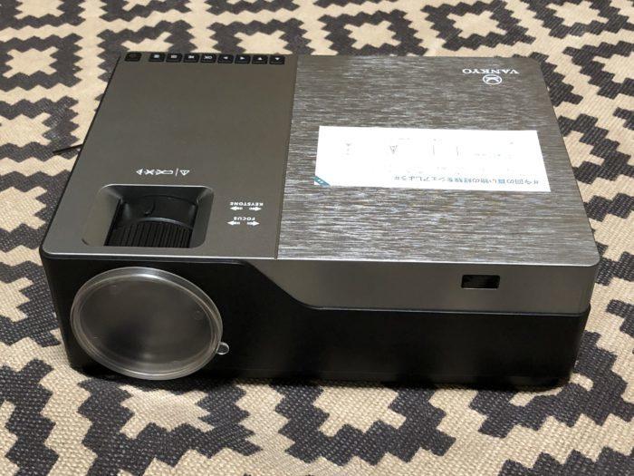 Vankyo 1080pフルHDプロジェクターV600 箱開け&設置