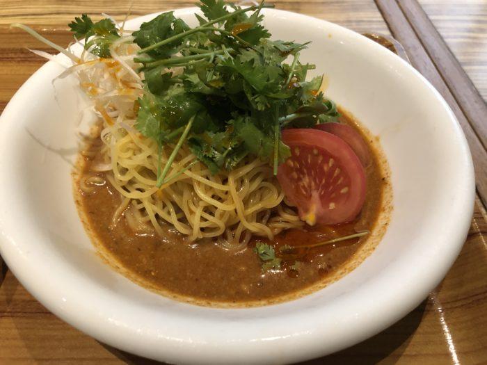 パクチー坦々冷麺 ハマムラ